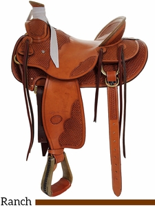 "15"" to 17"" Billy Cook Wade Tree Saddle 2181"