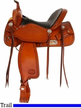 "** SALE ** 15"" to 17"" Billy Cook CJ Trail Saddle 1537"