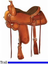 "15"" to 18"" Circle Y Powder River Competitive Trail Saddle 2600 w/$105 Gift Card"