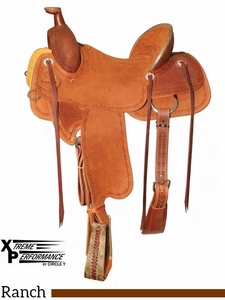"** SALE ** 15"" to 18"" Circle Y XP Baxter Ranch Saddle 1119"