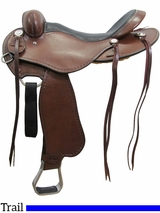 "** SALE ** 15"" to 17"" Cashel No Horn Trail Saddle, Reg or Wide Tree"