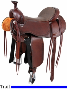 "** SALE ** 15"" to 17"" Cashel Outfitter Saddle, Reg or Wide Tree"