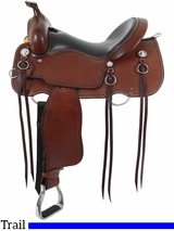 "** SALE ** 15"" to 17"" Cashel Trail Blazer Saddle, Reg or Wide Tree"