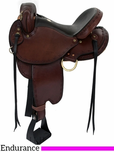 "** SALE ** 15"" to 17"" Dakota Endurance Trail Saddle 313"