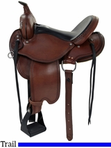 "** SALE ** 15"" to 17"" Dakota Flex Tree Trail Saddle 213"