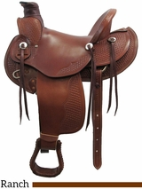 "** SALE ** 15"" to 17"" Dakota Wade Tree Saddle 809"