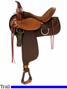 "** SALE ** 15"" to 17"" Fabtron Lady Wide Trail Saddle 7152 7154 7156 w/$55 Gift Card"
