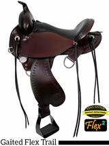 "14"" to 17"" Circle Y Alabama Flex2 Trail Gaiter Saddle 1581 w/$105 Gift Card"
