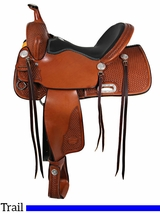 "** SALE ** 15"" to 17"" Billy Cook Trail Saddle 1536"