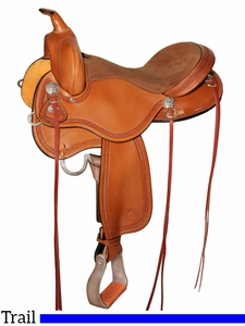 "15"" to 17"" Circle Y Gillette Trail Saddle 2615 w/Free Pad"