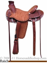 "15"" 16"" 17"" Rocking R A Fork Ranch Saddle 1785"