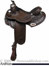 "15"" 16"" 17"" Rocking R Arabian Trail Saddle 1931"