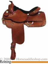 "15"" 16"" 17"" Rocking R Reining Saddle 880 Barbed Wire"