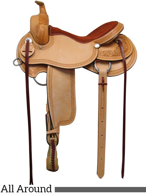 15, 16, 17-inch South Bend Saddle Co All Around Saddle 1124