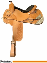 "15"" 16"" 17"" South Bend Saddle Co Reining Saddle 2728"