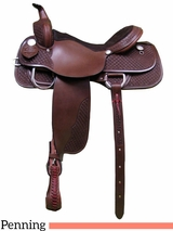 "15"" 16"" 17"" South Bend Saddle Co Team Penning Saddle 918"
