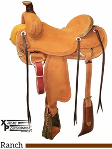 """15"""" to 17"""" Circle Y XP Oakdale Ranch Saddle 1118 w/$210 Gift Card"""