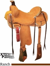 "** SALE ** 15"" to 17"" Circle Y XP Oakdale Ranch Saddle 1118"