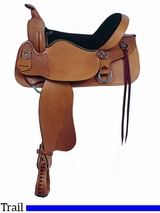 "** SALE ** 15"" 16"" American Saddlery Enduro Trail Saddle 1380 1381"