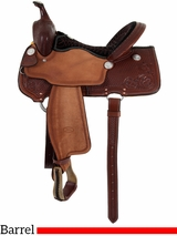 "14"" to 16"" Billy Cook Barrel Racing Saddle 1550"