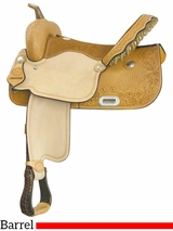 "** SALE ** 15"" Billy Cook Best Time Flex Racer Barrel Saddle 291275"