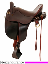 "15.5"" to 18.5"" Tucker Gen II Bayou Plantation Saddle 140"