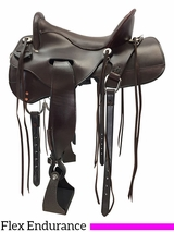 """** SALE ** 15.5"""" to 18.5"""" Tucker Gen II Tevis Competitor Endurance 151 w/$105 Gift Card"""