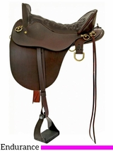 "15.5"" to 18.5"" Tucker River Plantation Saddle 146 w/Free Pad"