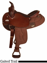 "15.5"" 16.5"" Big Horn Gaited Trail Saddle 2245"