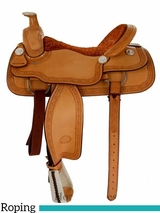 "** SALE ** 15"" to 17"" Billy Cook Roping Saddle 2121"