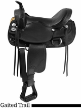 "** SALE ** 15.5"" to 17.5"" The Tennessean Supreme Trail Saddle 2212"