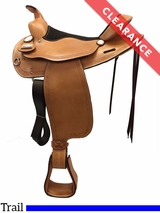 "15.5"" Big Horn Trail Saddle 1579 CLEARANCE"