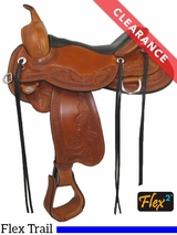 "15.5"" Circle Y Julie Goodnight Monarch Medium Flex2 Arena Performance Saddle 1752 CLEARANCE"