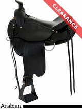 "16"" Dakota Arabian Trail Saddle 5320 CLEARANCE"