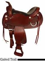 "15.5"" to 17.5"" The Big Horn Supreme Gaited Horse Trail Saddle 2212"