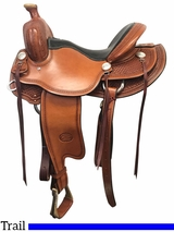 """** SALE ** 15.5"""" to 17"""" Billy Cook Tipton Trail Saddle 1735"""