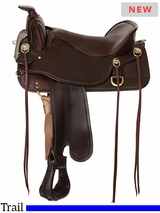 """** SALE ** 15.5"""" to 18.5"""" Tucker Cheyenne Frontier Trail Saddle T67 w/Free Pad"""