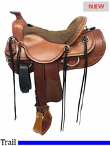 """** SALE ** 15.5"""" to 18.5"""" Tucker Dead Wood Trail Saddle 282 w/$105 Gift Card"""