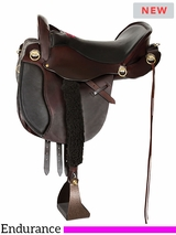 "15.5"" to 18.5"" Tucker Equitation Endurance Saddle T49 w/$105 Gift Card"