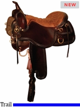 """** SALE ** 15.5"""" to 18.5"""" Tucker Snake River Trail Saddle 253 w/$105 Gift Card"""