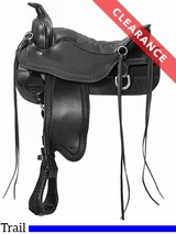 "15.5"" Tucker Cheyenne Frontier Trail Saddle 167 CLEARANCE"
