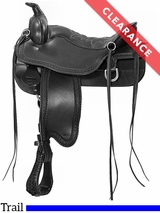 "15.5"" Tucker Cheyenne Frontier Medium Trail Saddle 167 CLEARANCE"
