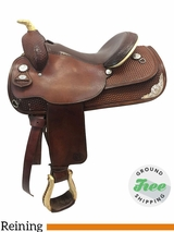15.5 Used Circle Y Medium Reining Saddles 1374 uscy3759 *Free Shipping*