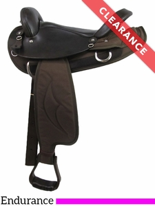 "15"" Big Horn Cordura Endurance Saddle 122 CLEARANCE"