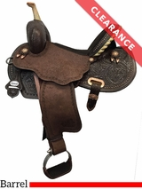 "14.5"" Circle Y Josey Ultimate Hiphugger Barrel Saddle 1174 CLEARANCE"