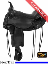 "16"" Circle Y Omaha Wide Flex2 Trail Saddle 1554 CLEARANCE"