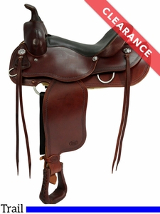 "15"" Courts Saddlery Trail Saddle 9788RB CLEARANCE"
