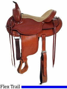 "** SALE ** 15"" 16"" Dakota Flex Tree Trail Saddle 202fx"