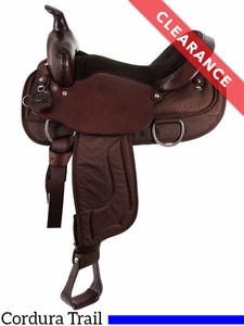 "SOLD 2017/08/17  15"" South Bend Saddle Co Lady Flex Wide Trail Saddle 2002 CLEARANCE"