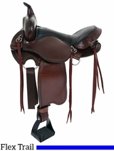 "15"" to 17"" Big Horn Custom Light Flex Tree Trail Saddle 813 814"